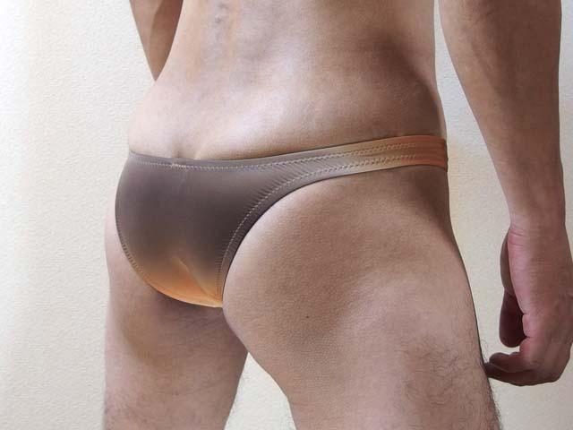 メンズレインボーダーTフロントリオバック(035890)セクシー男性下着/メンズビキニ/TMコレクション/ターキー
